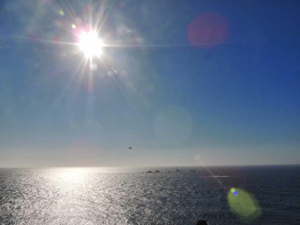 Shimmering Atlantic Ocean