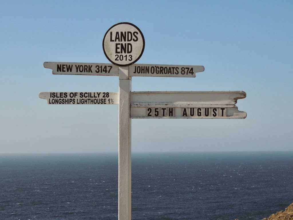 Signpost Land's End