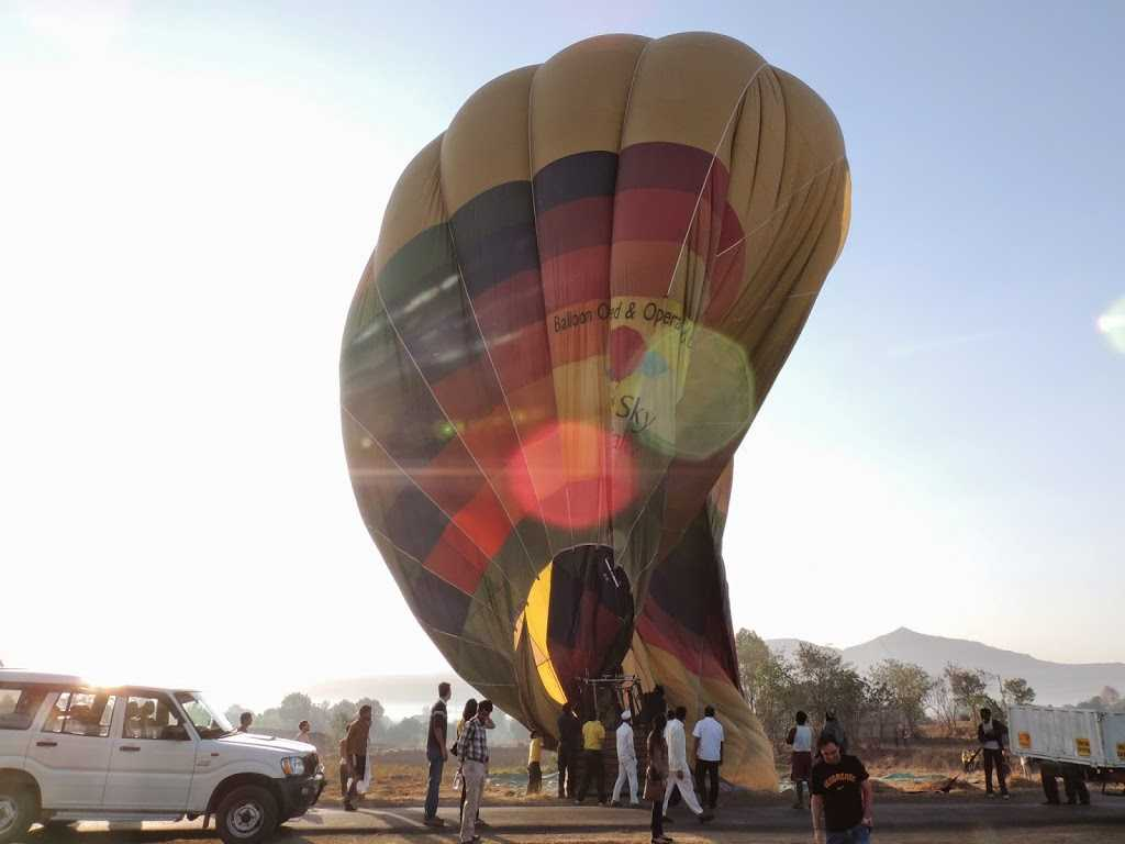 Hot Air Balloon Diffused