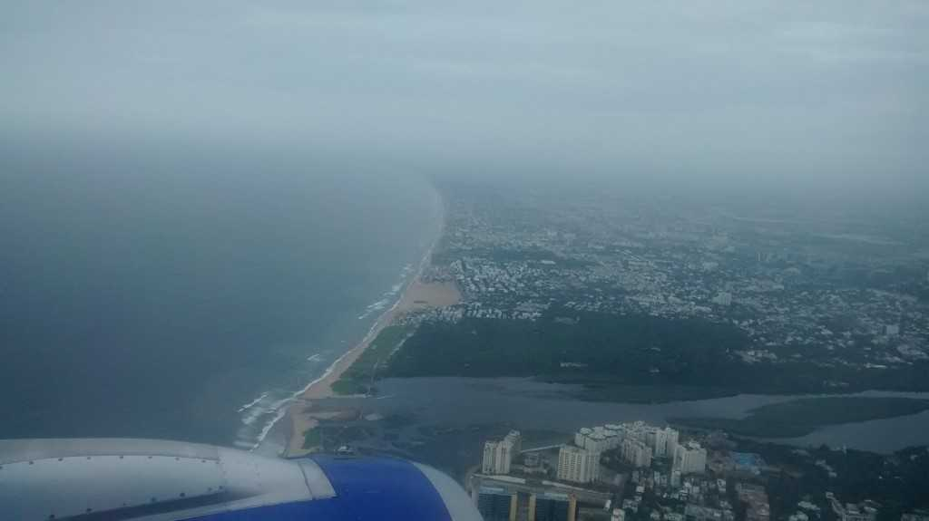Chennai Aerial View