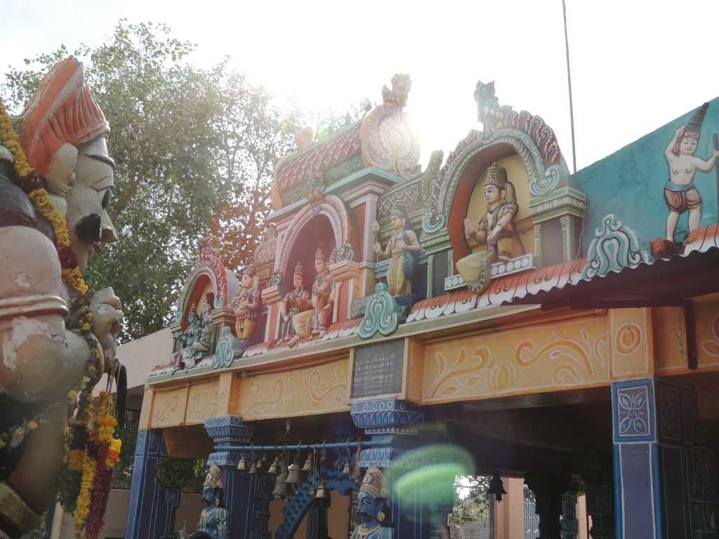 Entrance to the Ayyanar Temple